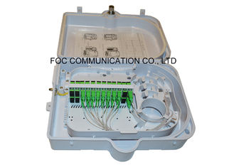 Fiber Optical Termination Box 24 Core Fiber Optic Patch Panel For Mini Tube Type PLC Splitter 1*16