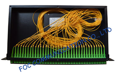 High Stability Fiber Optic Splitter 1 × 36 , Rack Mount Local Area Network lan splitter